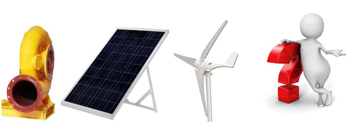 بادی ، آبی ، خورشیدی: کدام یک مناسب نیاز شما است؟